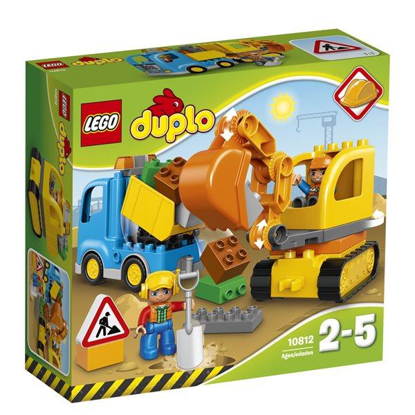 LEGO DUPLO 10812 Pásový bagr a náklaďák - DUPLO LEGO Ville