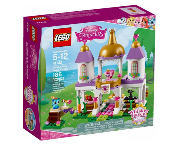 LEGO Disney Princezny 41142 Mazlíčci z paláce - královský hrad, 5 - 12 let