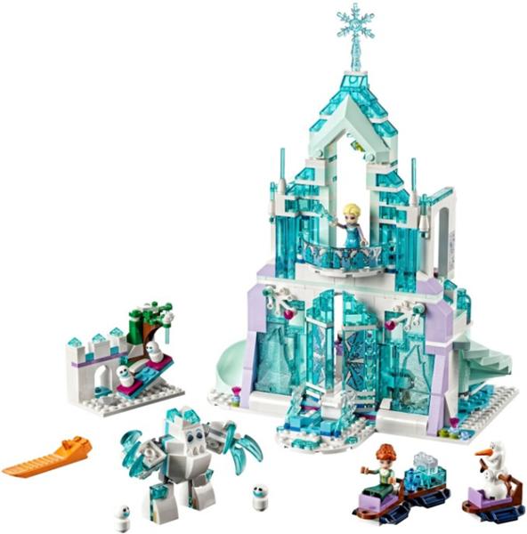 LEGO Disney Princezny 41148 Elsa a její kouzelný ledový palác, Doprava zdarma