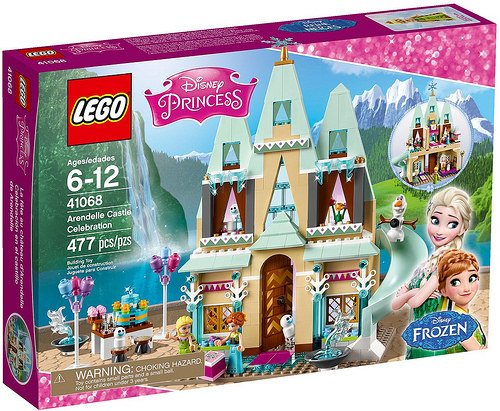 LEGO Disney Princezny 41066 Oslava na hradě Arendelle, věk 6-12, novinka 2016, Doprava zdarma