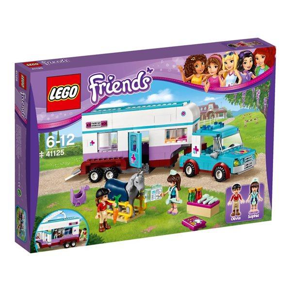 LEGO Friends 41125 Veterinářský přívěs s koněm, věk 6-12