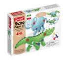 Tecno Puzzle 3D - slon a krokodýl