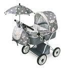 DeCuevas Skládací kočárek pro panenky s deštníkem SKY-M
