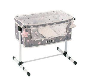DeCuevas Novorozenecká postýlka pro panenky s doplňky SKY
