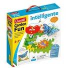 Quercetti Garden Fun Georello bugs & gears – převodová stavebnice zahrádky
