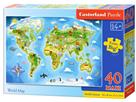 Puzzle MAXI 40dílků - Světadíl