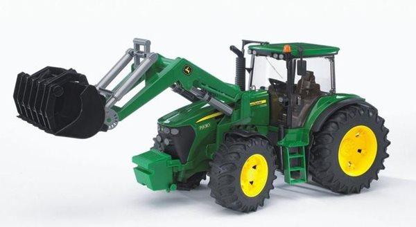 Traktor John Deere 7930 s předním nakladačem BRUDER
