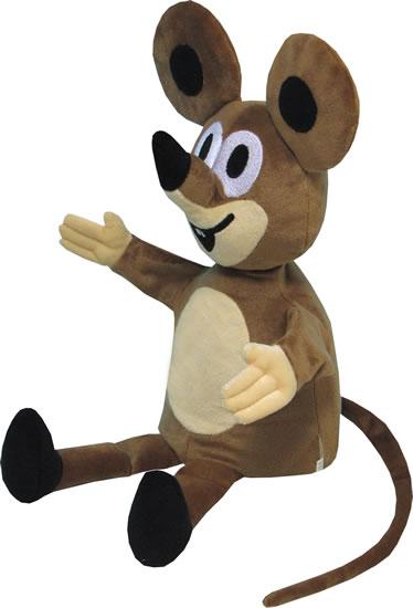 Plyšový maňásek Myška 40 cm