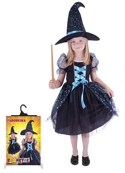 Kostým Čarodějka s kloboukem, vel. M