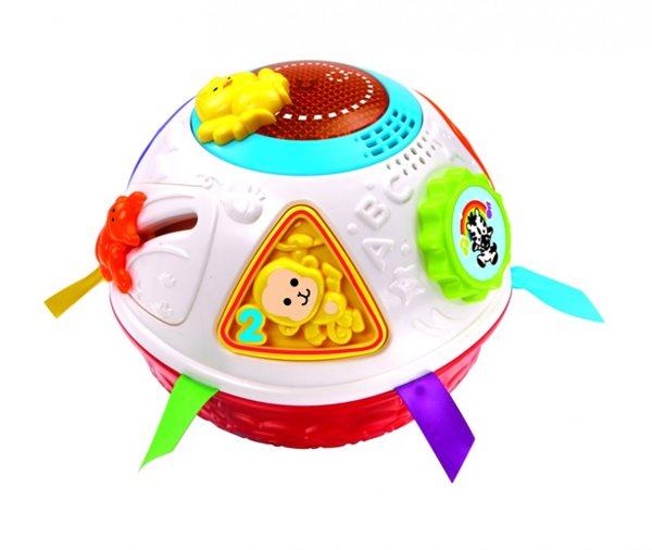 Vtech Upovídaný míček pro nejmenší se zvukem se světlem