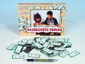 Násobilkové domino - společenská hra