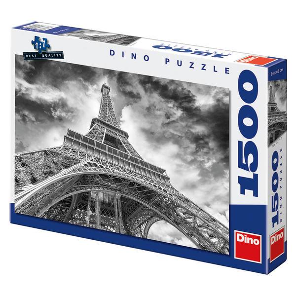 Puzzle Mračna nad Eiffelovkou 1500 dílků