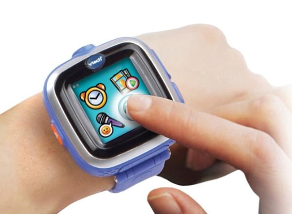 VTech Kidizoom Smart Watch modré s fotoaparátem a videokamerou, Doprava zdarma