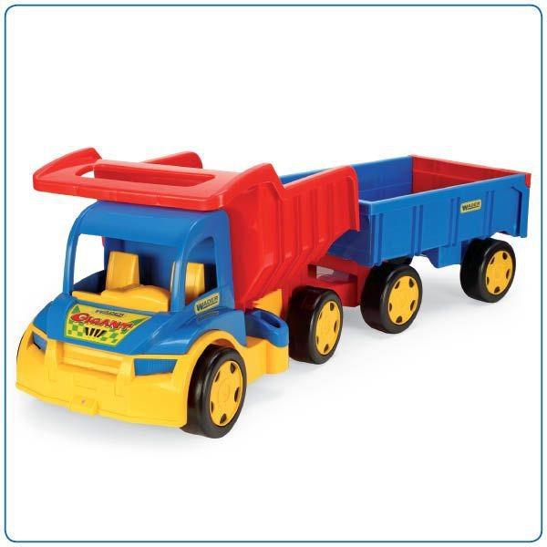 Auto Gigant Truck, plastový 55 cm Wader