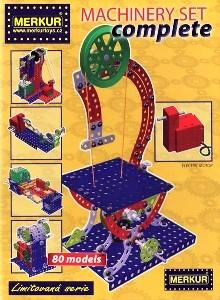 Merkur stavebnice Machinery Set Complete 80 modelů, Doprava zdarma