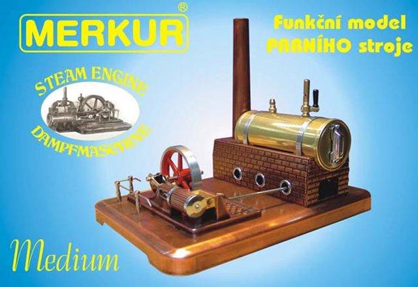 Merkur stavebnice - Parní stroj MEDIUM, Doprava zdarma