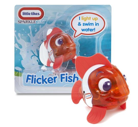 Svítící rybka - oranžová