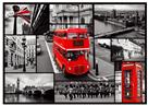 Puzzle Londýn koláž 1 000 dílků, 68×48 cm v krabici