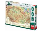 Puzzle mapa České republiky 500 dílků, 47× 33 cm