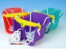Houpačka Baby plastová 30× 23× 28 cm - mix barev