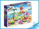 BanBao stavebnice Trendy Beach bazén s barem 205ks + 2 figurky ToBees v krabičce