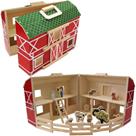 Domeček rozkládací dřevěná farma 17 ks