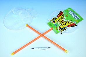 Síťka na hmyz 65 cm, průměr 25 cm, plastová
