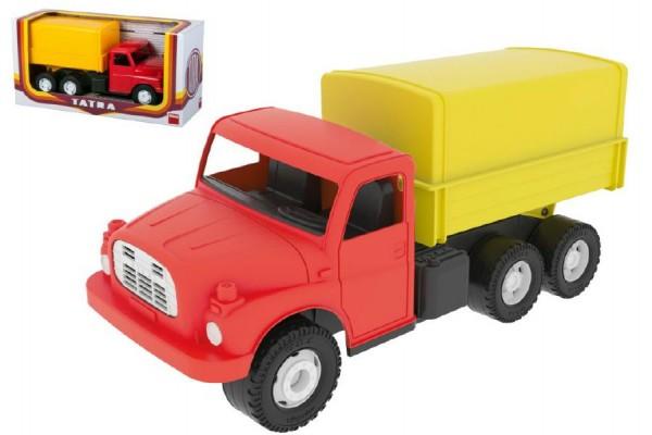 Auto Tatra 148 plast 30 cm valník s plachtou v krabici