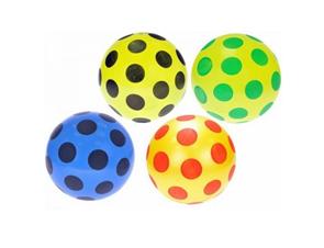 Míč s puntíky 22cm mix barev