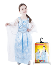 Karnevalový kostým princezna zimní modrá, vel. S