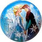 Míč Anna a Elsa průměr 23cm Ledové království
