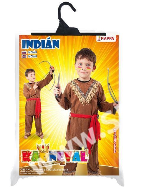 Karnevalový kostým indián b20fa2cc18