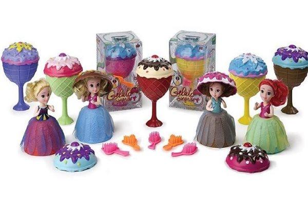 Panenka/ Gelato/ Cupcake - zmrzlinový pohár 16cm vonící, mix 12 druhů