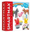 Stavebnice SmartMax - Zvířátka z farmy – 16 ks