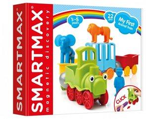 Stavebnice SmartMax - Můj první vláček se zvířátky - 25 ks