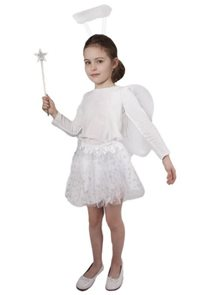 Sukně Tutu Anděl s křídly a doplňky
