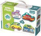 Puzzle baby Dopravní prostředky 2dílky
