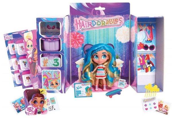 Hairdorables kouzelná panenka překvapení s doplňky, mix druhů