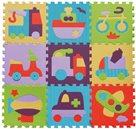 Pěnové puzzle Barevná doprava SX (30x30)