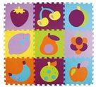 Pěnové puzzle Barevné ovoce SX (30x30)