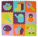 Pěnové puzzle Barevná zahrádka SX (30x30)