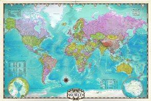 Puzzle Mapa světa 2000 dílků