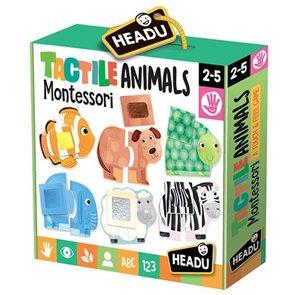 Puzzle Dotkni se zvířátka (Montessori)