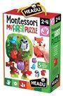 Moje první puzzle Les s 5 dřevěnými figurkami (Montessori)