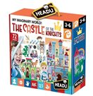 Hrací sada s puzzle Můj vymyšlený svět: Rytířský hrad