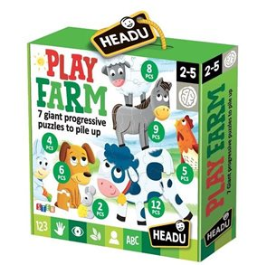 Puzzle Hravá farma 7v1