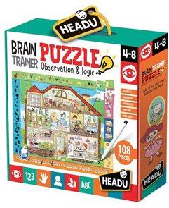 Puzzle s hledáním obrázků Dům 108 dílků