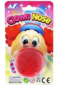 Klaunský nos pěnový