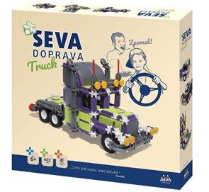 Stavebnice Seva Doprava Truck, 402 dílků