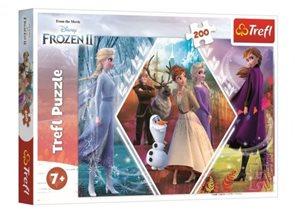 Puzzle Ledové království 2 - 48 x 34 cm 200 dílků